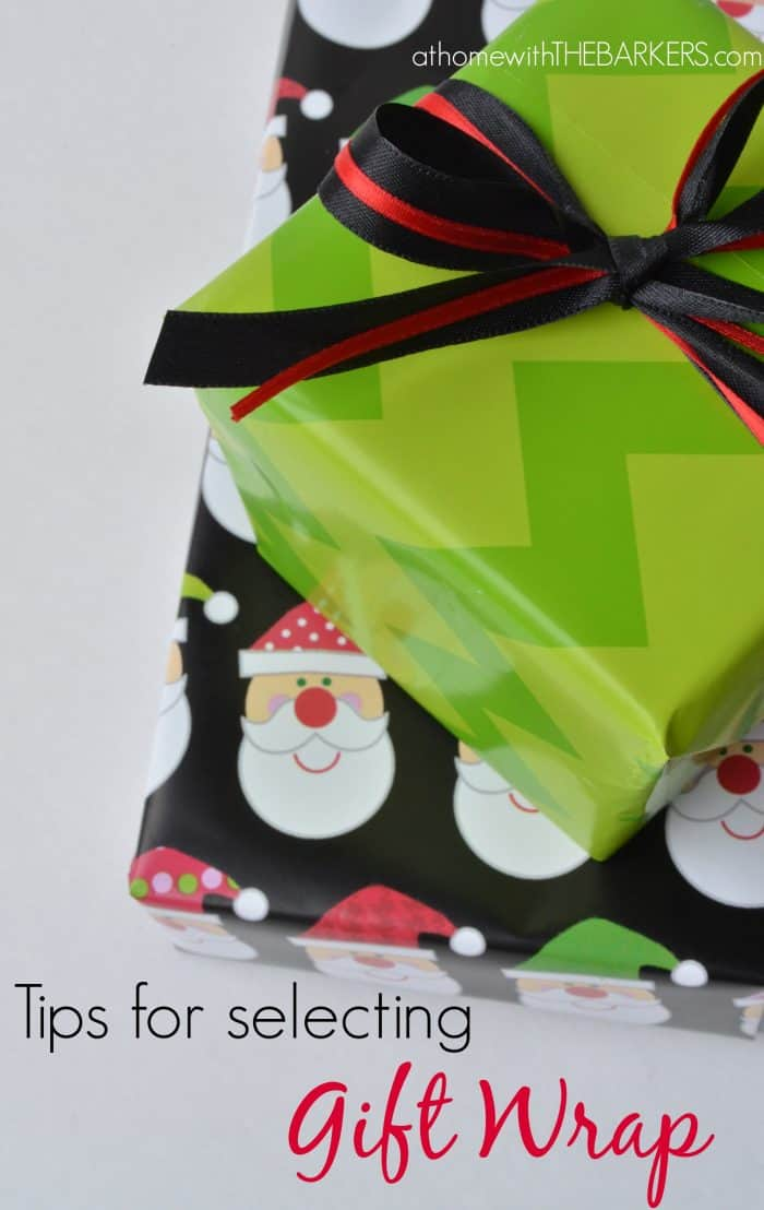Gift Wrap Tips