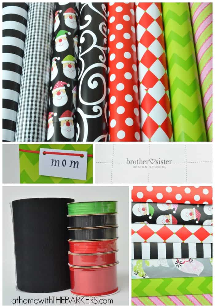 Gift Wrap Tips and Supplies