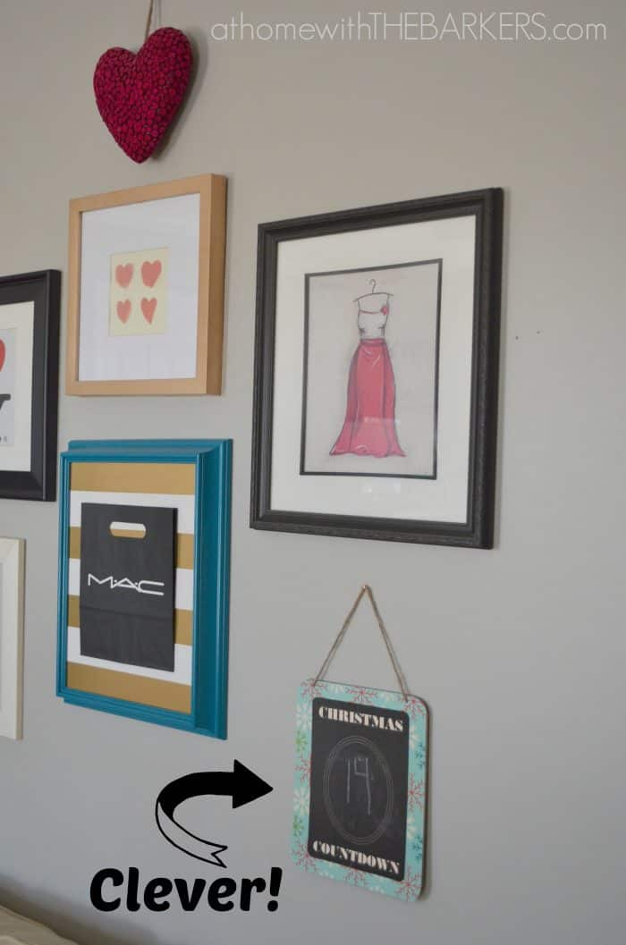 Holiday Decorating For Teen Girls Gallery Wall At Home