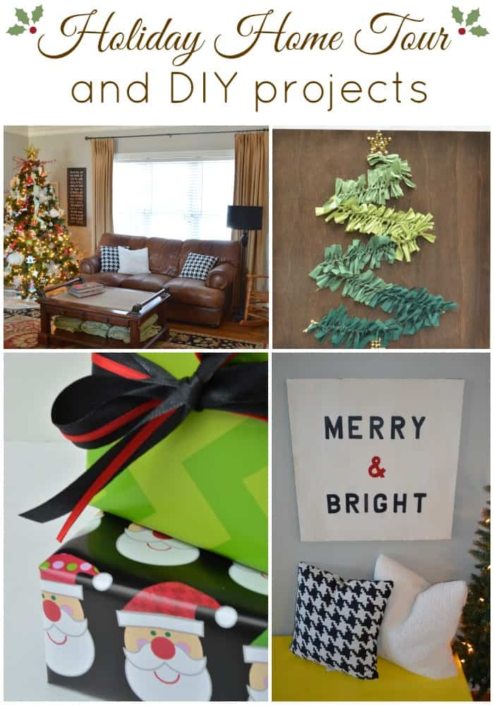 Holiday Home Tour and DIY projects