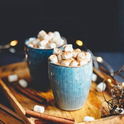 hot chocolate christmas gift idea