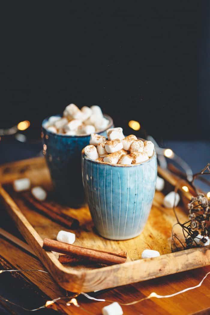 hot chocolate christmas gift idea