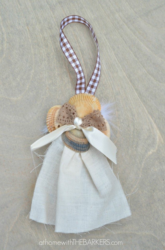 Sea Shell Angel Ornaments-At Home with The Barkers