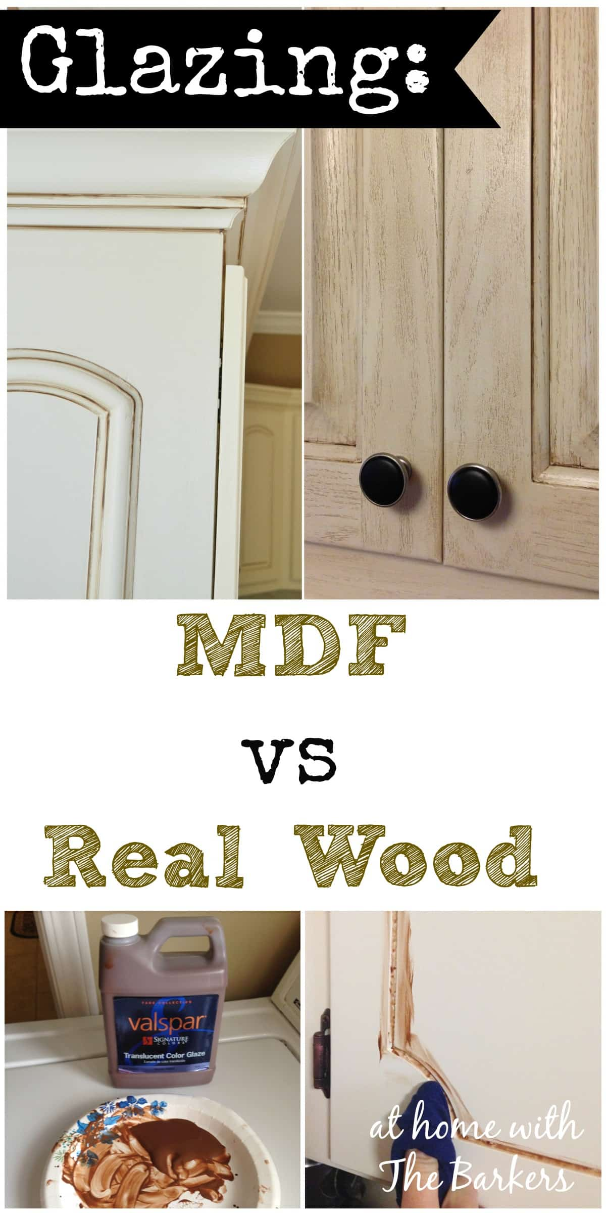 Real Wood Kitchen Doors Glazing Mdf Versus Real Wood At Home With The Barkers