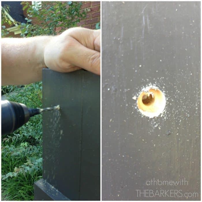 Kreg Jig Tool for DIY shutters