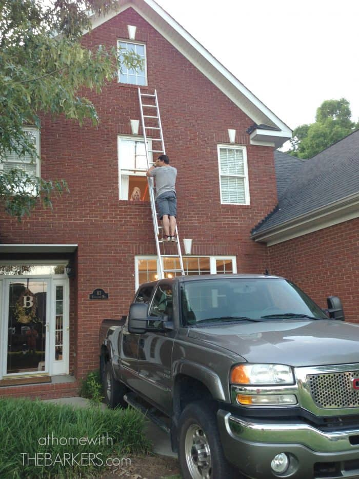 Board and Batten shutters prep work