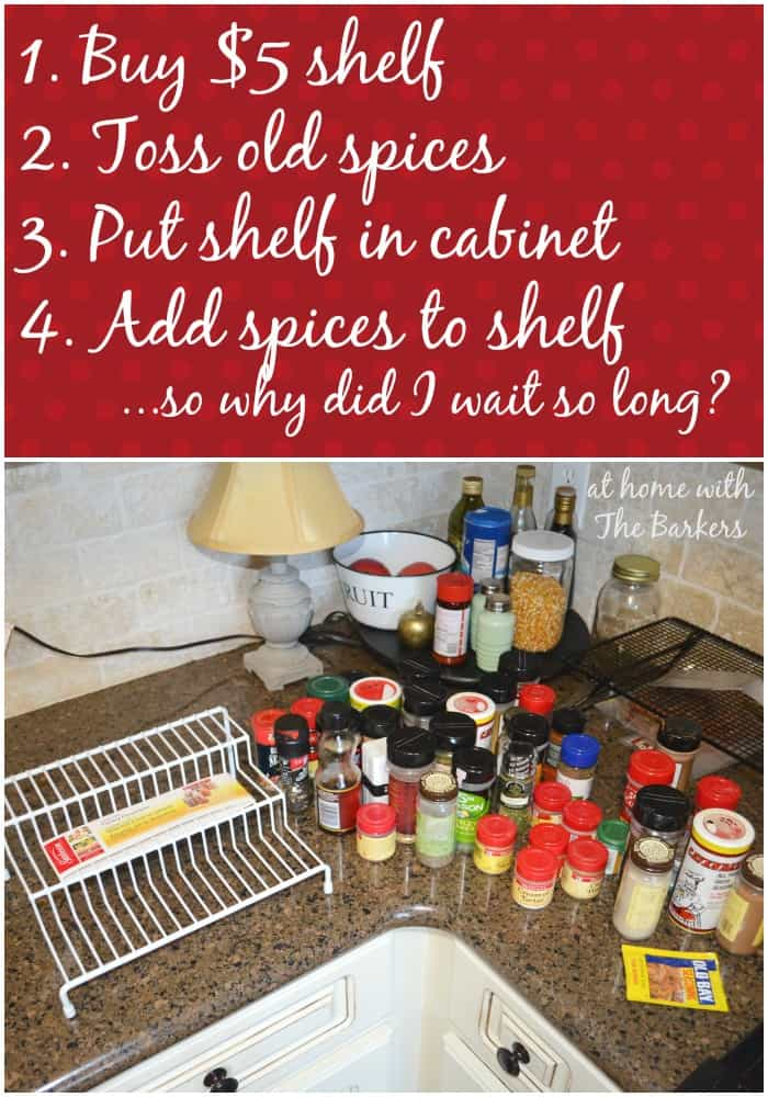 Spice Cabinet List