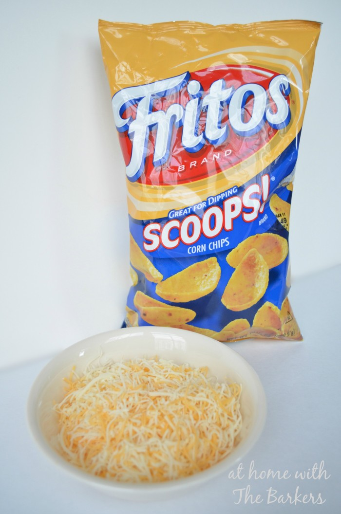 Taco Soup Chips and Cheese
