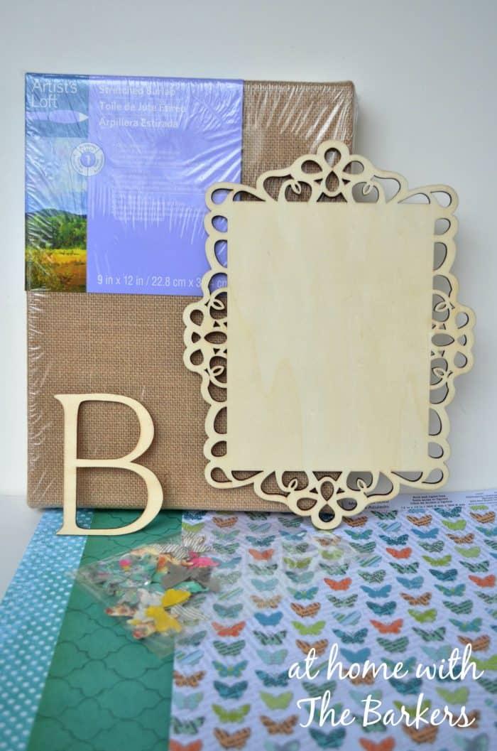 Burlap Art Supplies