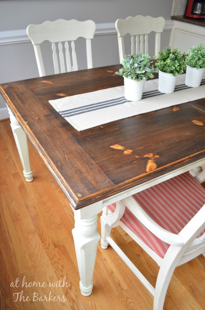 Restaining Kitchen Table And Chairs