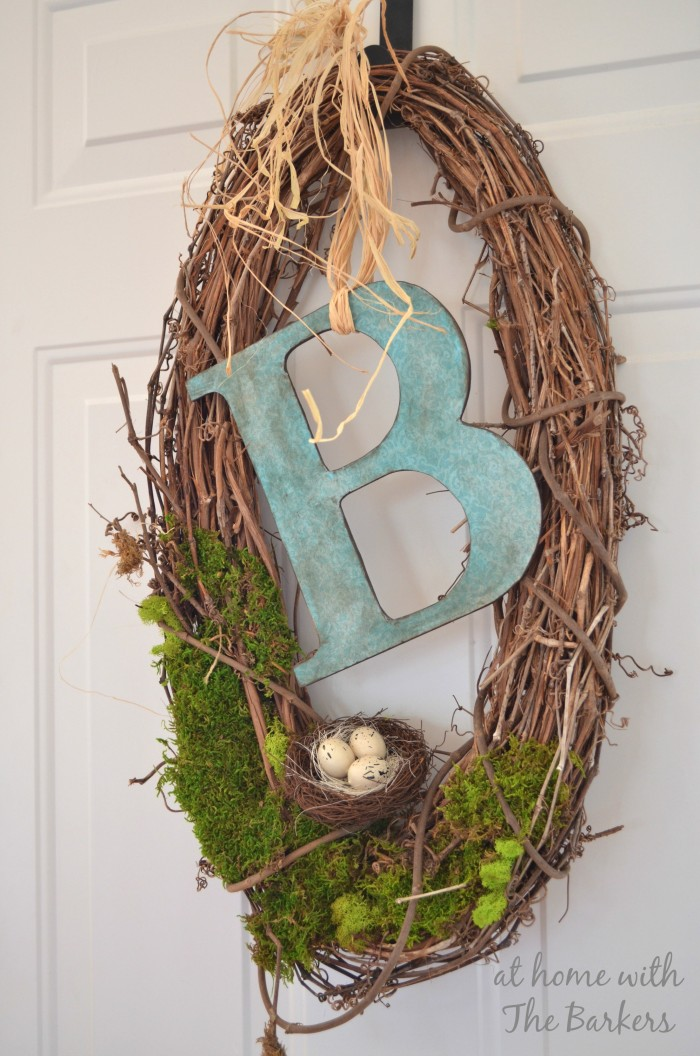 Natural Spring Wreath