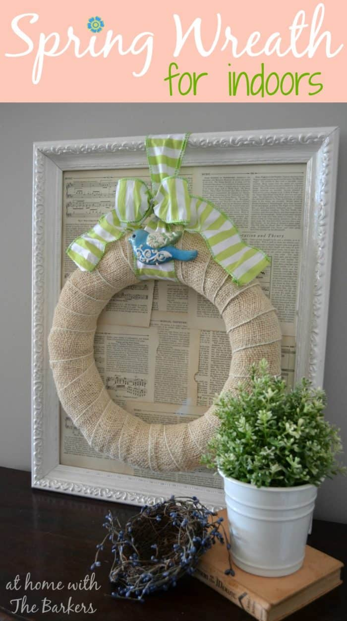 Spring Wreath for Indoors