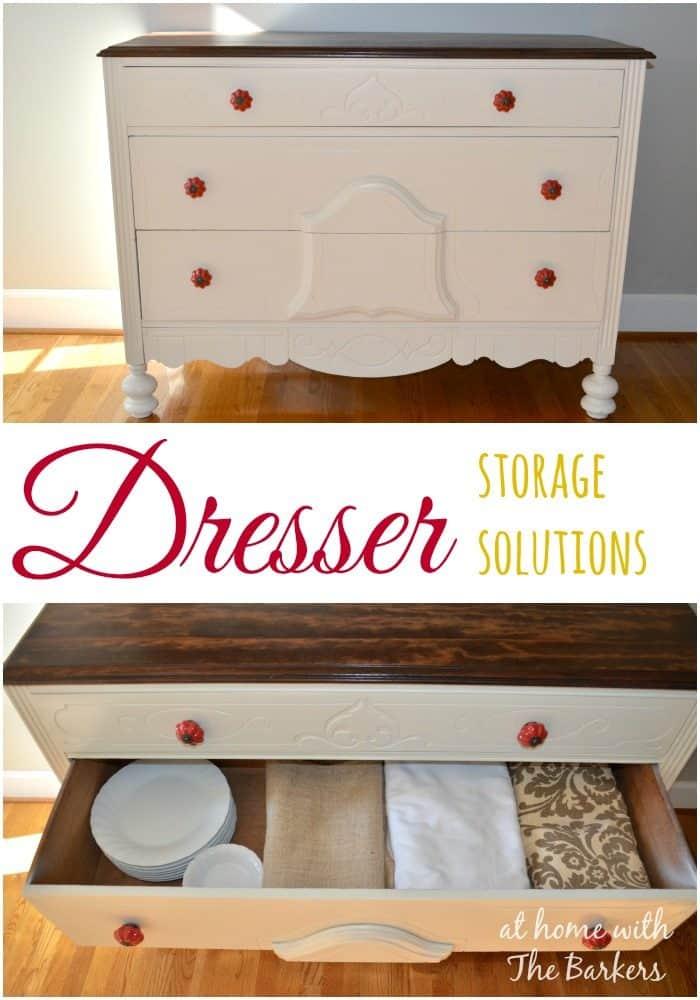 Dresser Storage Solutions