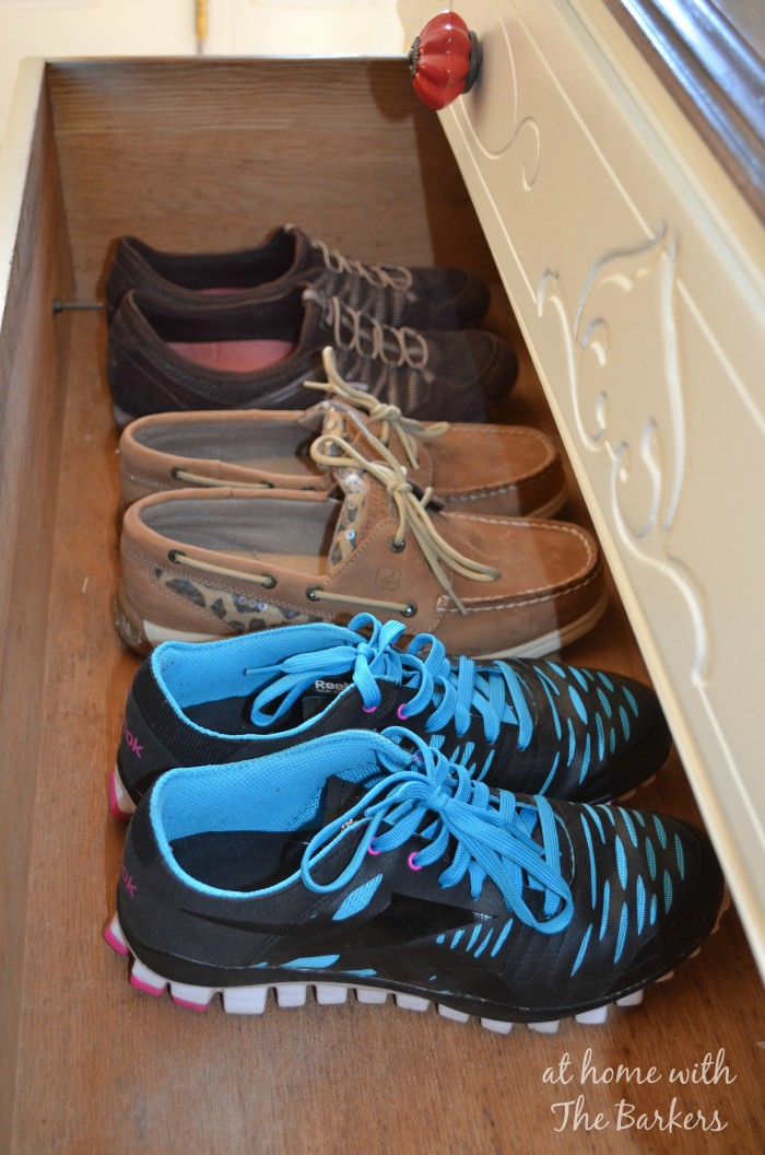 Dresser Storage Solutions from At Home with The Barkers #organization