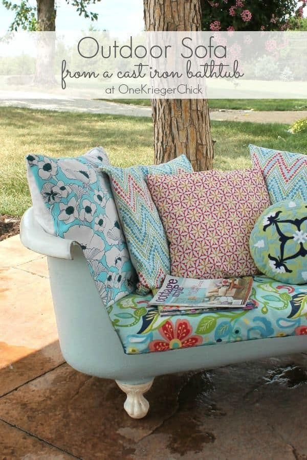 One Krieger Chick Outdoor Sofa