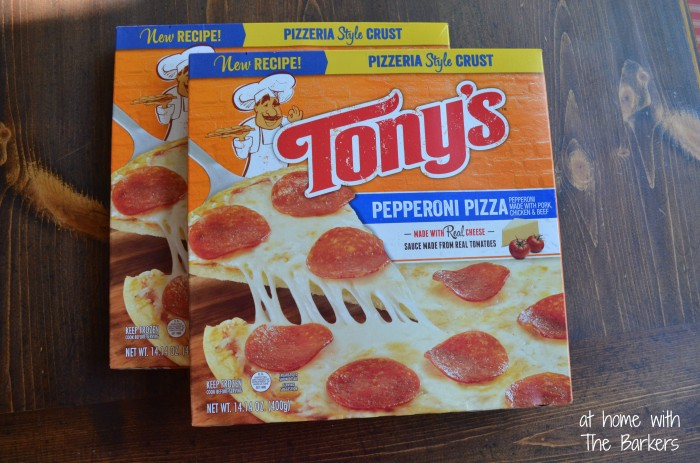 Family Pizza Night-Tony's Pizza
