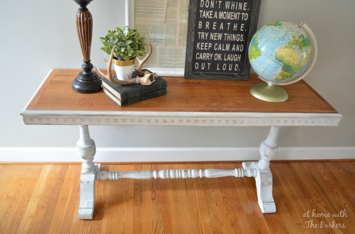 Garage Sale Table Makeover with Annie Sloan