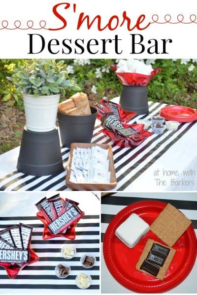 S'more Dessert Bar-S'more Party #showusyourmess #pmedia #ad
