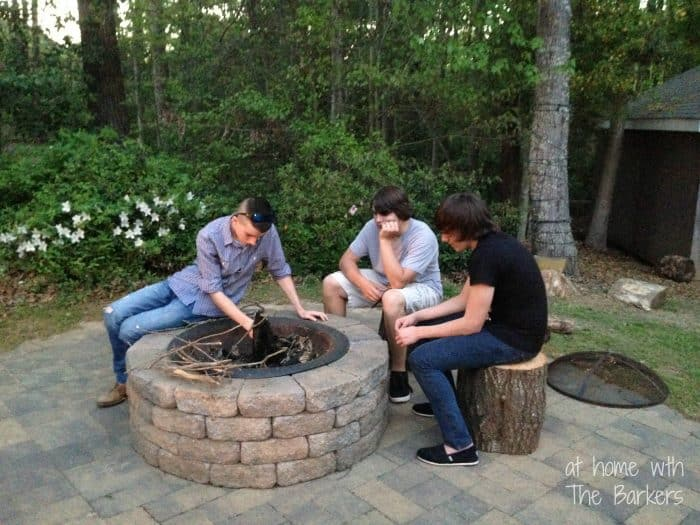 S'more Dessert Party-Fire Pit