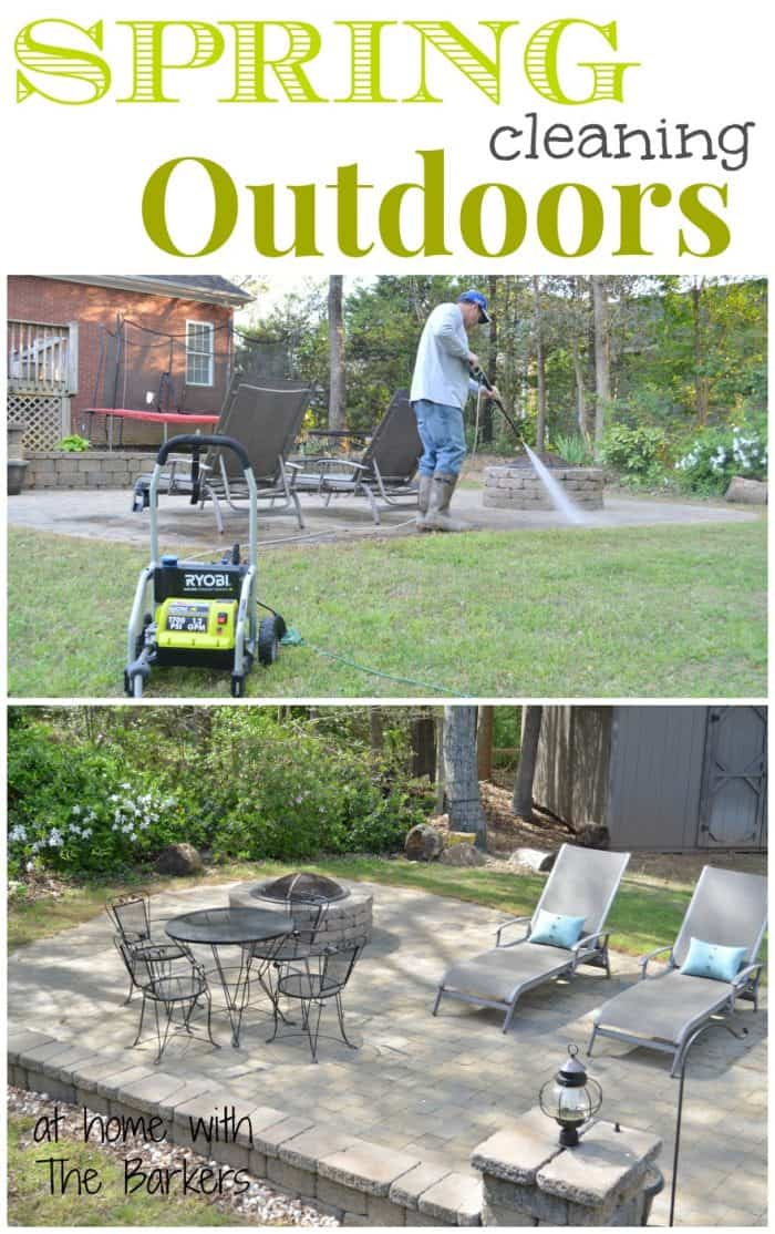 Spring Cleaning Outdoors