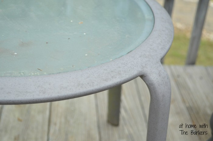Spring Cleaning Outdoors-Mold Pollen