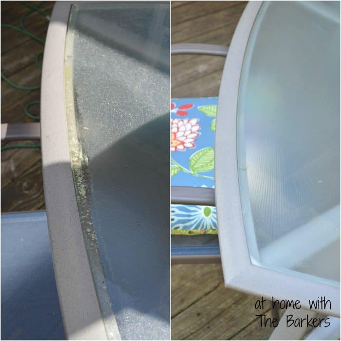 Spring Cleaning Outdoors-Table