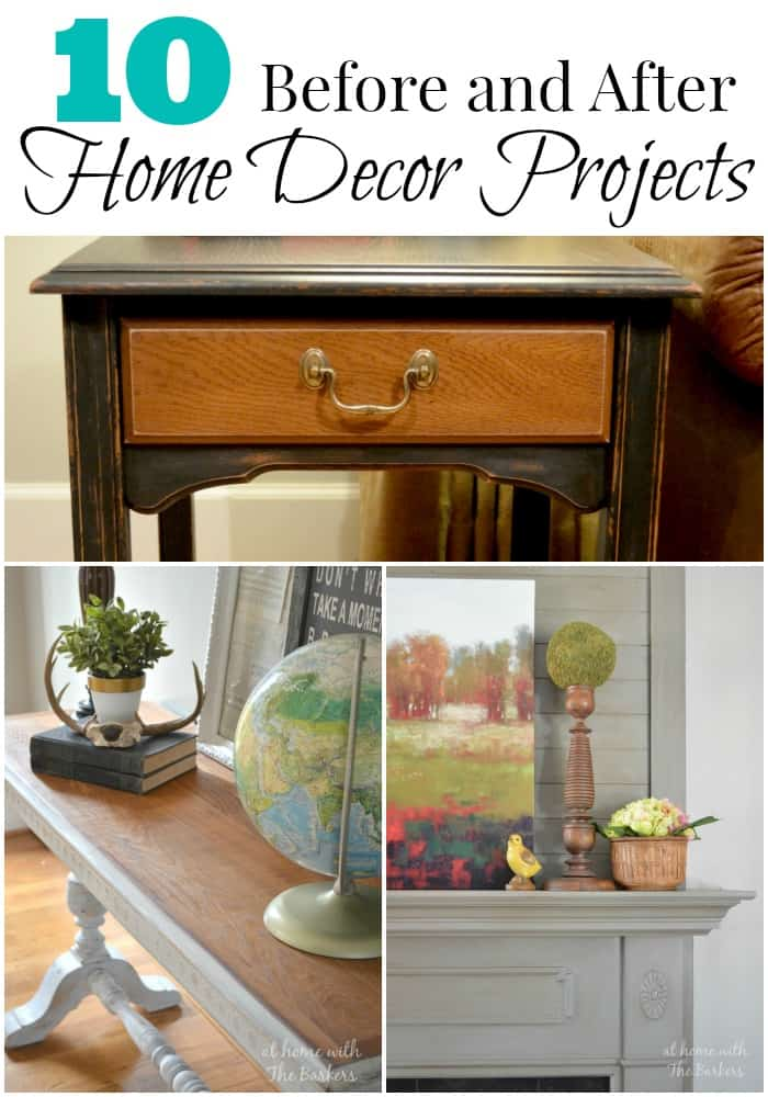 10 before and after home decor projects at home with the barkers