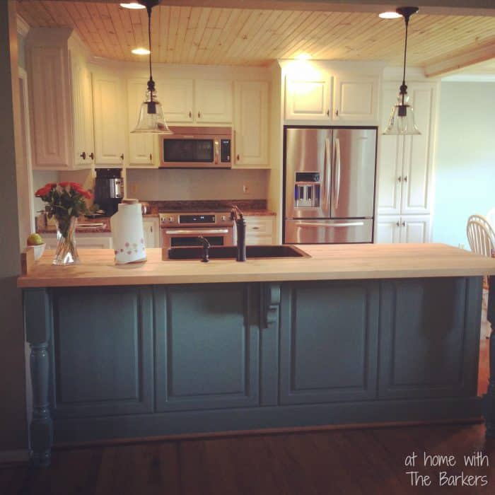 Glazed Kitchen Cabinets-Instagram Pic