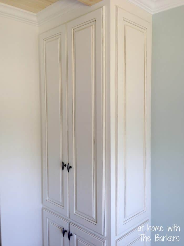 Glazed Kitchen Cabinets-Pantry Doors