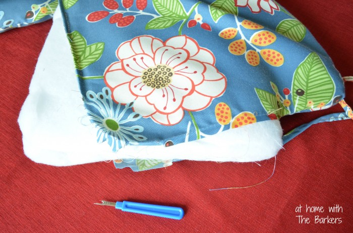 Reversible Patio Cushions and Pillows-Floral Fabric