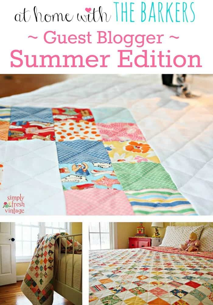 Summer Guest Blogger {Simply Fresh Vintage}
