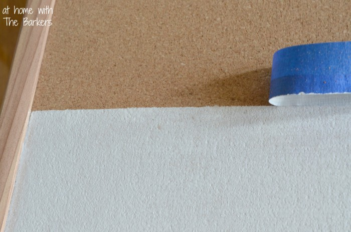 How to paint stripes-removing painters tape