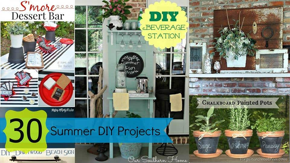 30 Summer DIY Projects