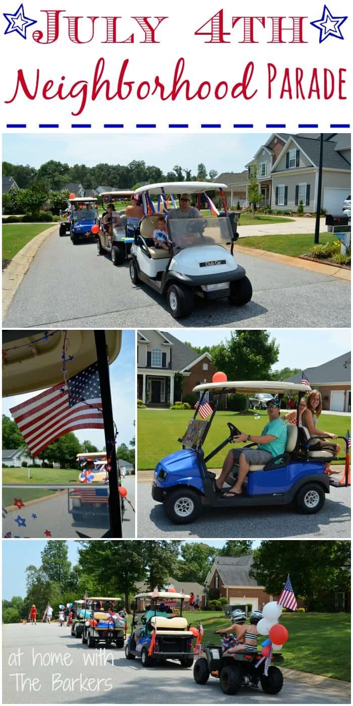 July 4th Neighborhood Parade