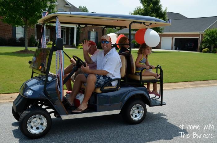 July Fourth Neighborhood Parade-Friends