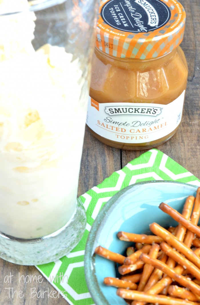 Salted Caramel Crunch Milkshake-Treat
