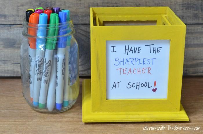 Back to School Sharpie Teacher Gift Idea