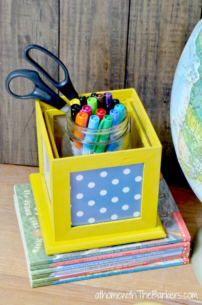 Back to School Sharpie Teacher Gift Organization