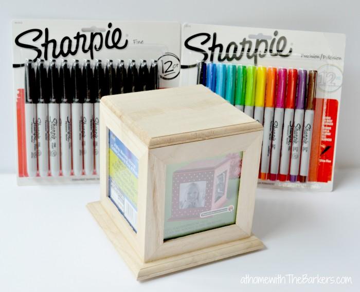 Back to School Sharpie Teacher Gift Supplies