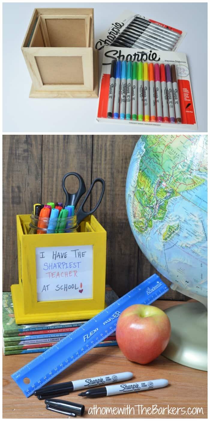 Back to School Sharpie Teacher Gift