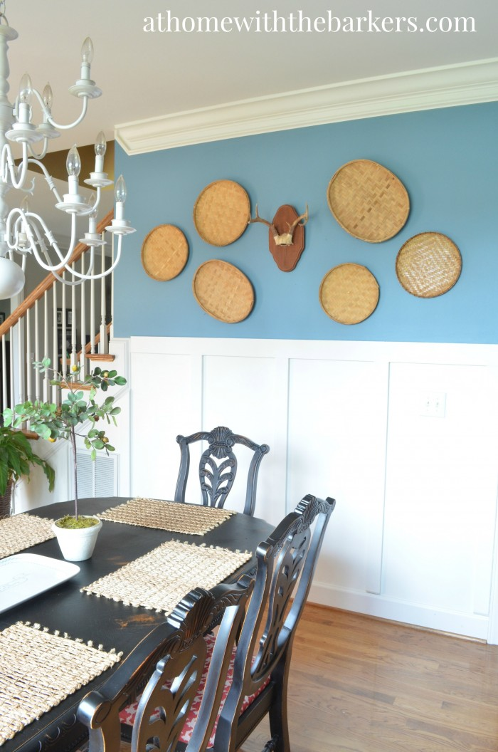 Dining Room Makeover-Gallery Wall