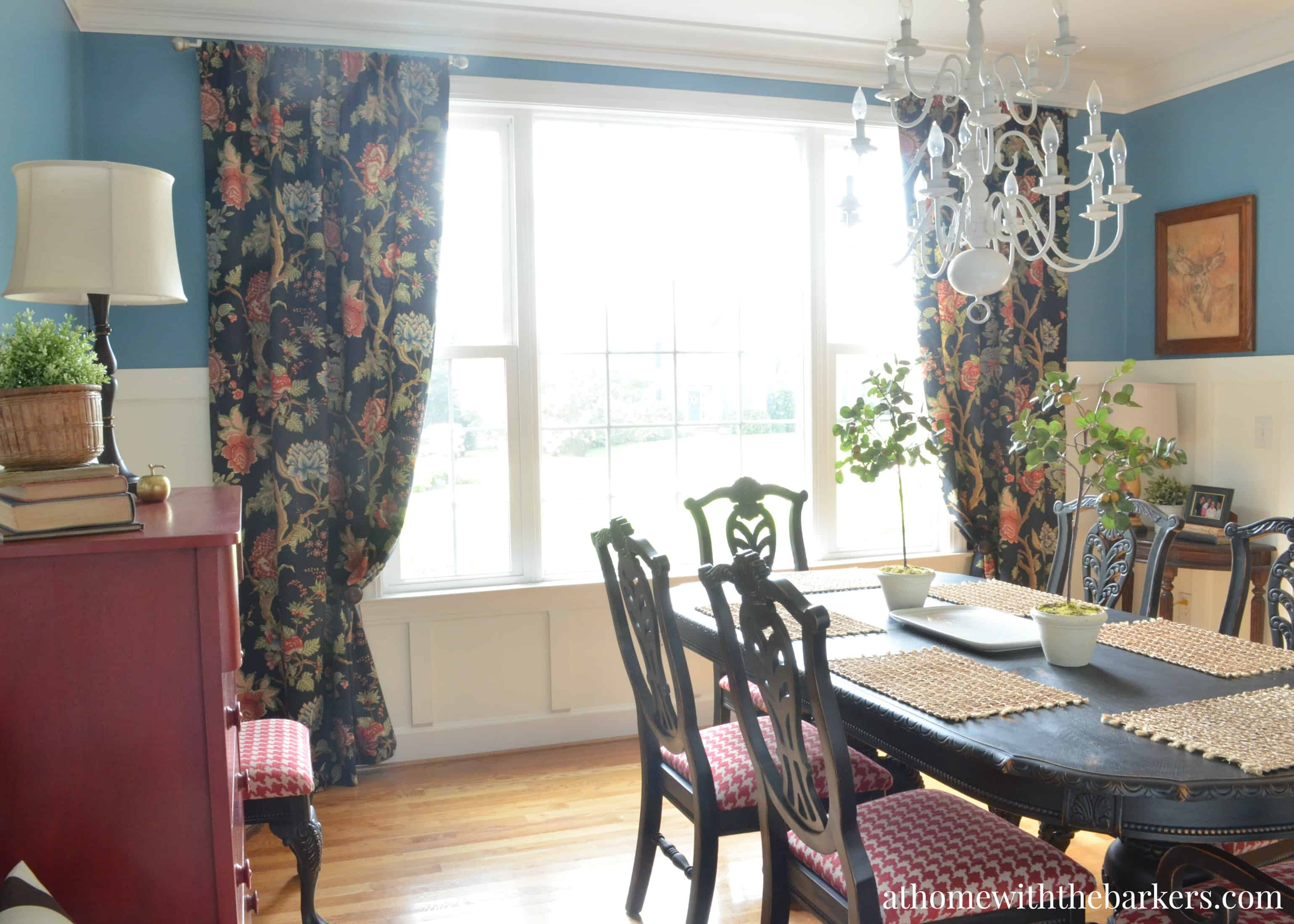 dining room makeover reveal at home with the barkers