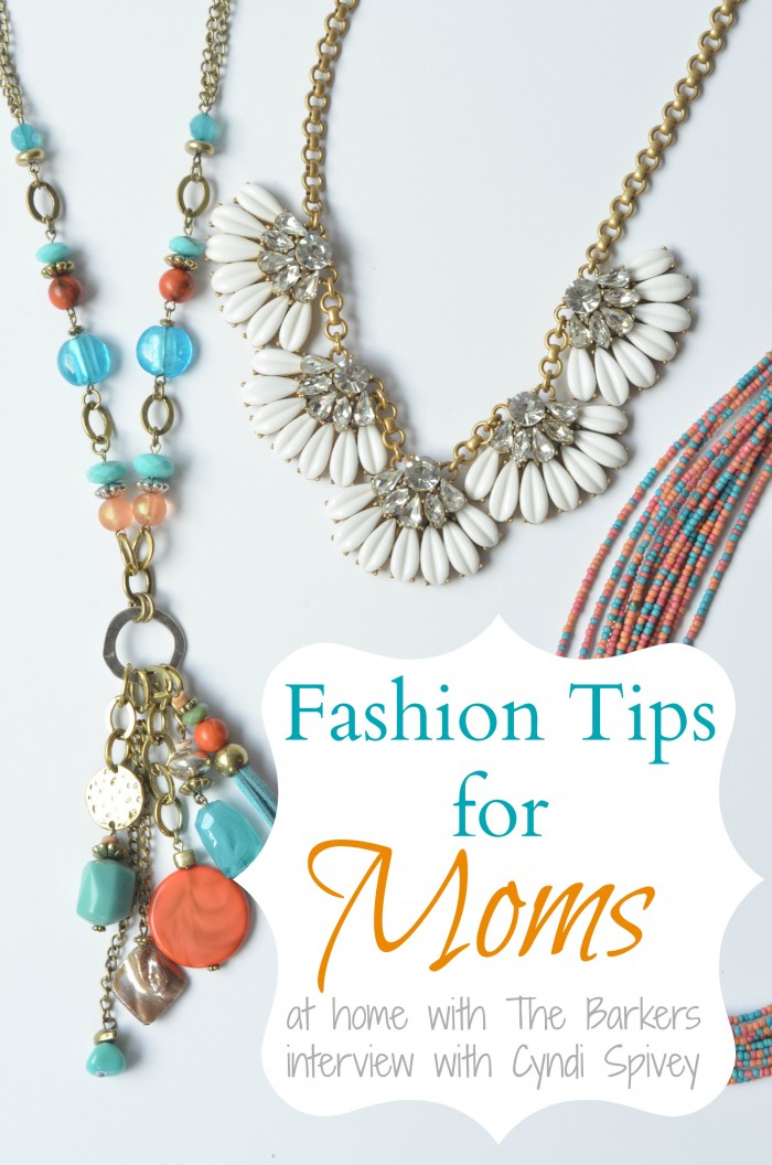 Fahsion Tips for Moms-interveiw with Cyndi Spivey