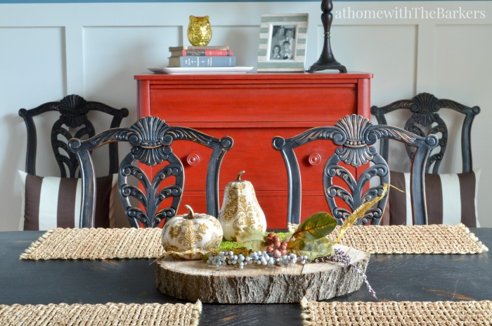 Fall Centerpiece-Dining Room Table