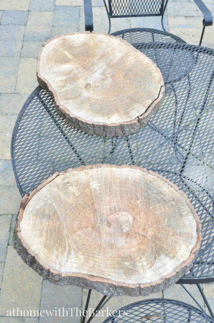 Fall Centerpiece-Wood Centerpiece