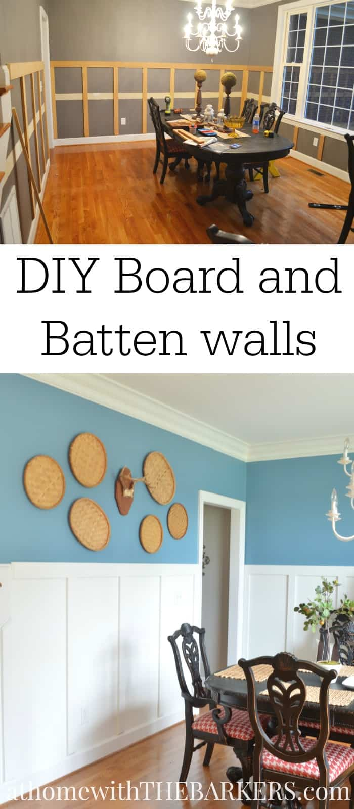 Faux Board And Batten Tutorial