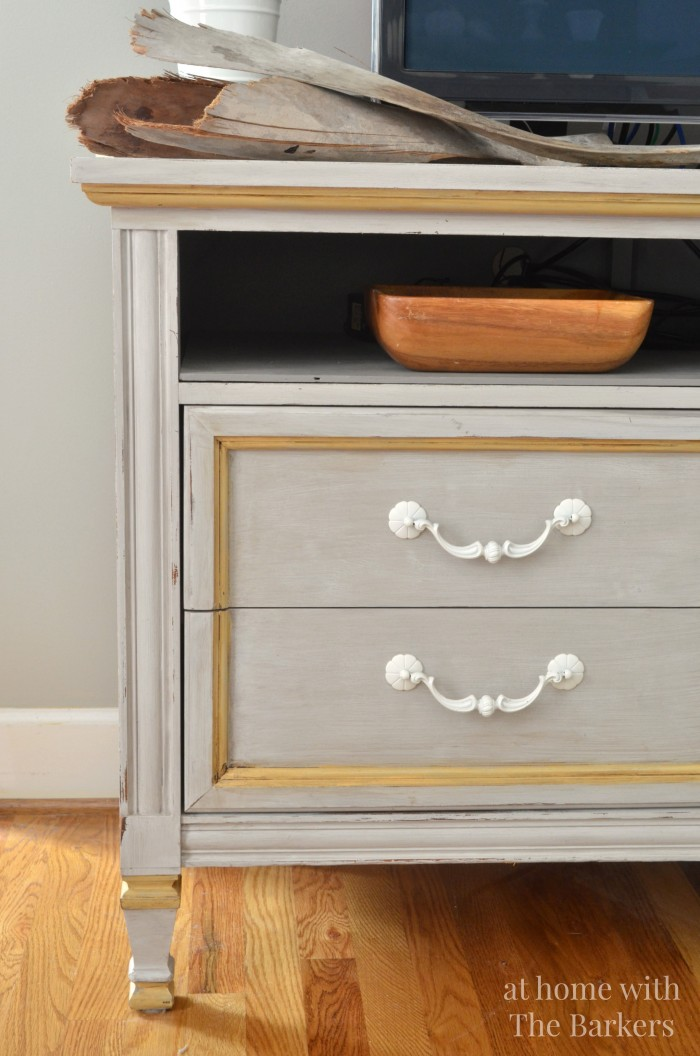 TV Stand Makeover-Inspired by Dear Lillie