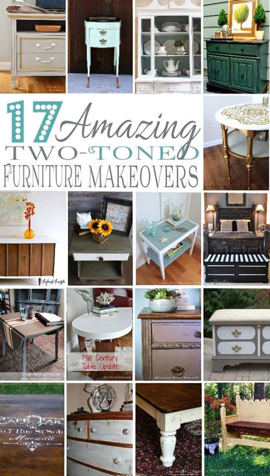 Two Toned Furniture, DIY Project