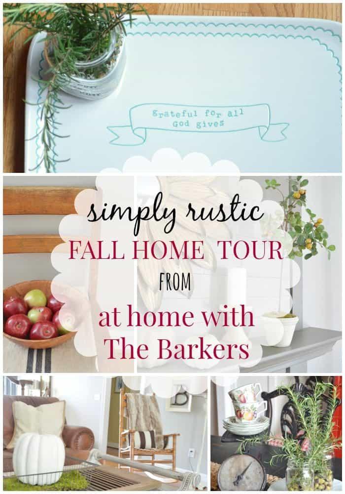 Welcome Fall Home Tour