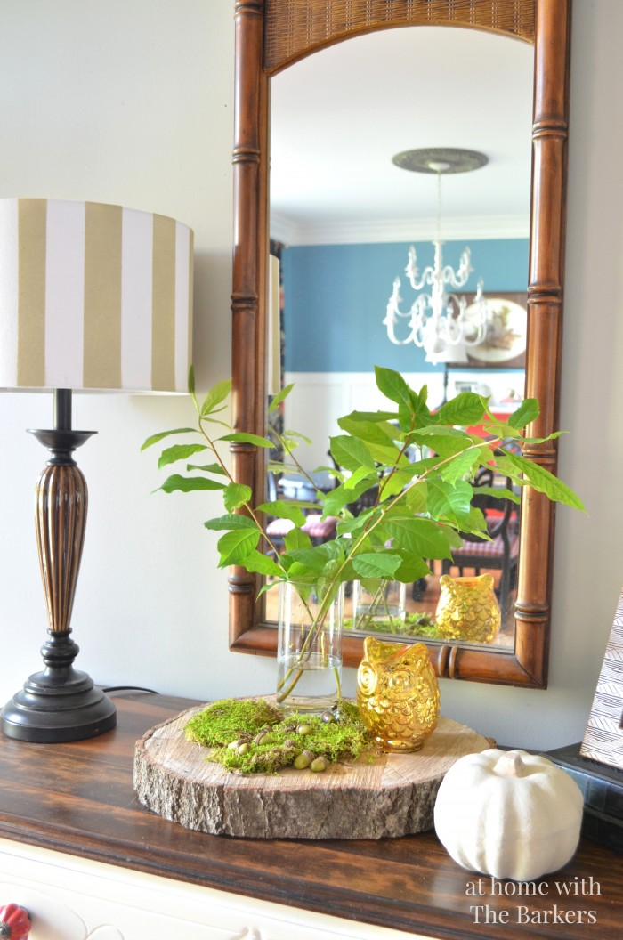 Rustic Decor- Fall Home Tour- At Home with The Barkers